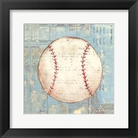 Play Ball I Framed Print