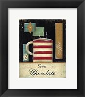 Framed Swiss Chocolate