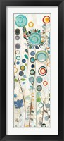 Framed Ocean Garden I Panel II