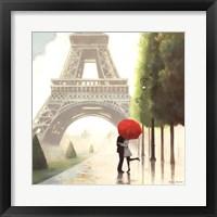 Framed Paris Romance II