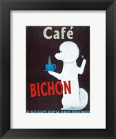 Framed Cafe Bichon
