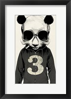 Framed Panda No. 3