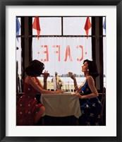 Framed Cafe Days