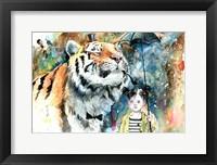 Framed Mr. Tiger
