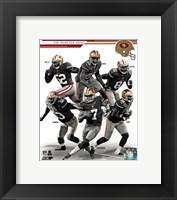 Framed San Francisco 49ers 2013 Team Composite