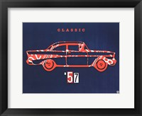 Framed 57 Chevy