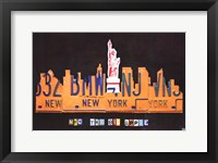 Framed NYC Skyline