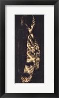 Framed Single Man's Tie III