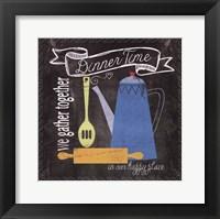 Dinnertime Framed Print