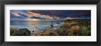 Framed Shipwreck Coast Panoramic