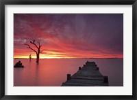 Framed Lake Charm 4