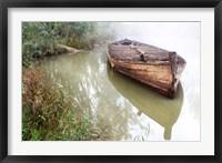 Framed Old Barge 2