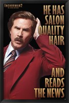 Framed Anchorman 2 - Hair