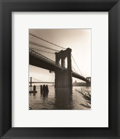 Framed Brooklyn Bridge II