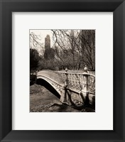 Framed Pine Bank Bridge NYC