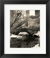 Framed Gapstow Bridge NYC