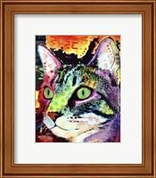 Framed Curiosity Cat