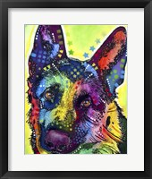 Framed German Shepherd 1