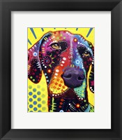 Framed German Short Hair Pointer