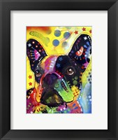 Framed French Bulldog 2