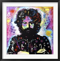 Framed Jerry Garcia