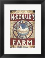 Framed Egg Farm