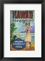 Framed Hawaii