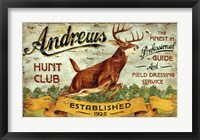 Framed Hunt Club