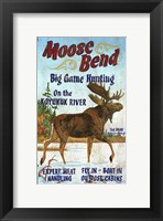 Framed Moose Bend