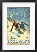 Framed Ski Colorado