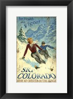Framed Ski Colorado