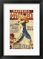 Framed Baseball Tournament