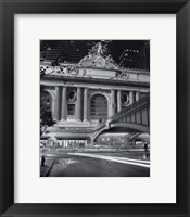 Framed Grand Central Night