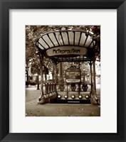 Framed Metropolitain (Paris) II