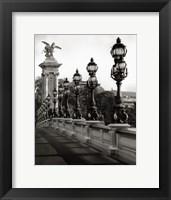 Framed Pont Alexander