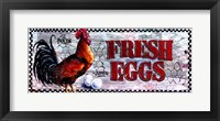 Framed Fresh Eggs