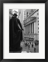 Wall Street 3 Framed Print