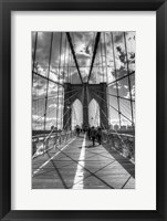 Framed Brooklyn Bridge HDR 2