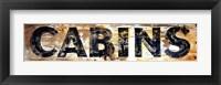 Framed Cabins