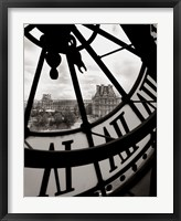 Framed Big Clock