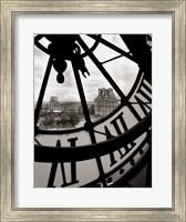 Framed Big Clock