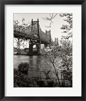 59Th Street Bridge Framed Print