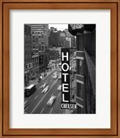 Framed Chelsea Black and White