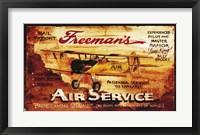 Framed Freemans Aviation