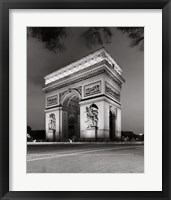 Framed Arc de Triomphe Paris