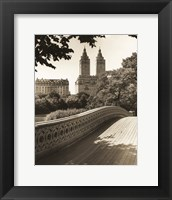 Framed Bow Bridge NYC