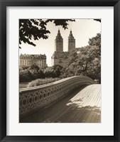 Bow Bridge NYC Framed Print