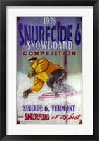 Framed Snowboard