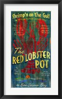 Framed Lobster Pot