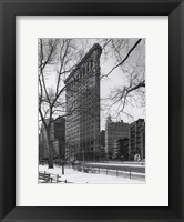 Framed Flatiron Building NYC